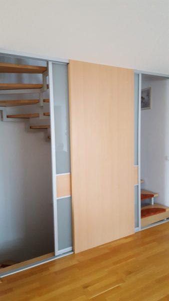Durchgang - Abtrennung Treppenaufgang