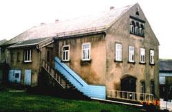 Die ehemalige Schmiede vor dem Umbau