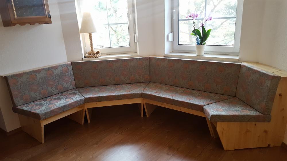 Sitzbank perfekt eingepasst