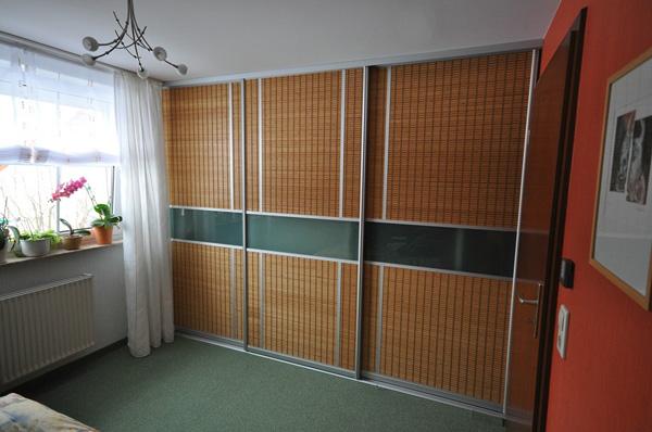 Schiebtüren aus Bambus